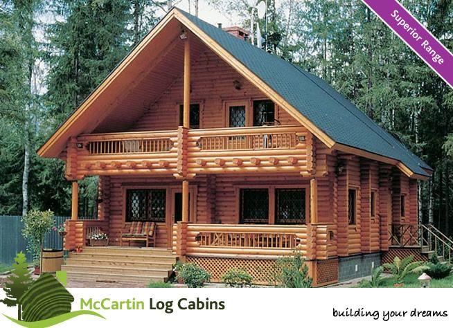 Log cabin home house ideas pinterest green roofs for Log cabin roof design