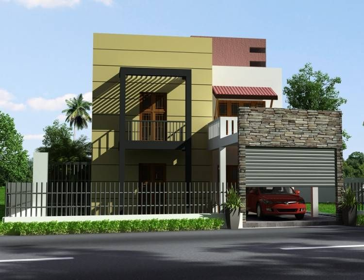 Box Type House Design In Sri Lanka House Design Simple House Design House