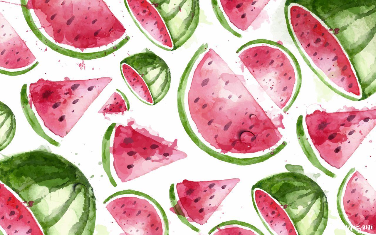 camizani macbook wallpaper watermelon