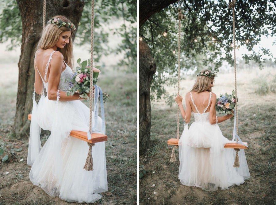 Pin By Karolina Mazur On Sesja Na Hustawce Wedding Dresses Flower Girl Dresses Dresses