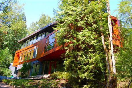 "Cullen House Portland twilight:"" the cullen family's contemporary house | twilight movie"