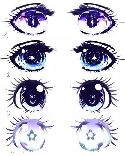 Anime Eye Styles Anime Eye Drawing Anime Eyes Manga Drawing