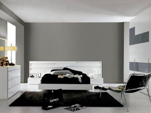 Dormitorios en blanco y negro. Dormitorio de la colección Nuit de ...