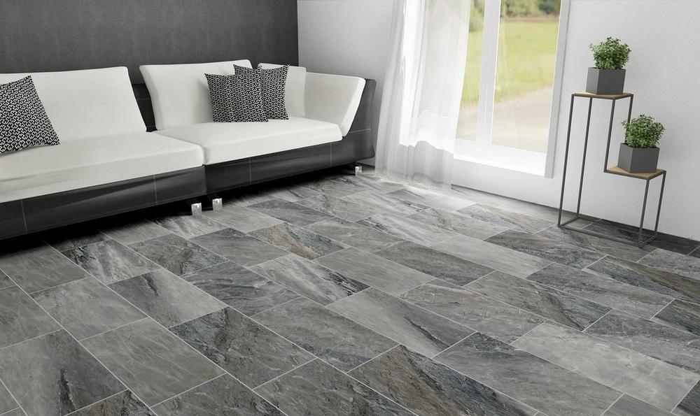 prisma black ceramic tile 12 x 24