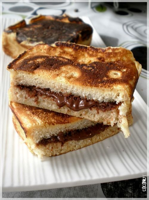 pain perdu fa on pancake fourr au nutella blog coconut foodisterie et cuisine food. Black Bedroom Furniture Sets. Home Design Ideas