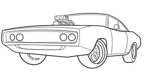 How To Draw The Fast And Furious 1970 Dodge Charger Step By Step Cars Draw Cars Online Transport Cars Coloring Pages Race Car Coloring Pages Dodge Charger