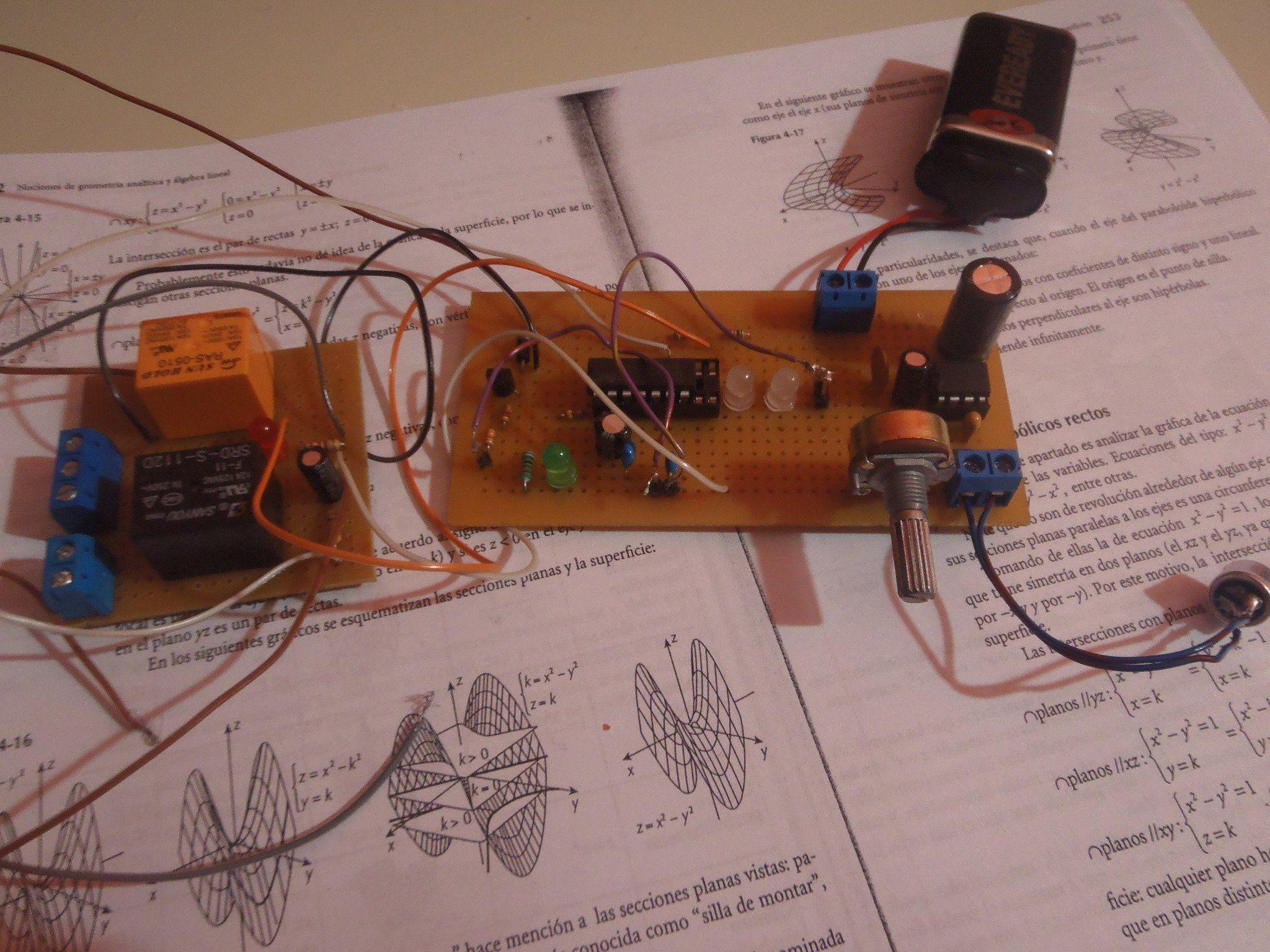 Prende Y Apaga La Luz De Tu Pieza Con Un Aplauso Km Fm Transmitter Electronic Circuits And Diagramelectronics Hazlo Mismo