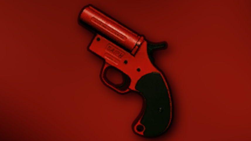 Delightful PUBG Flare Gun Wallpaper|PUBG Mobile HD 4k Wallpapers