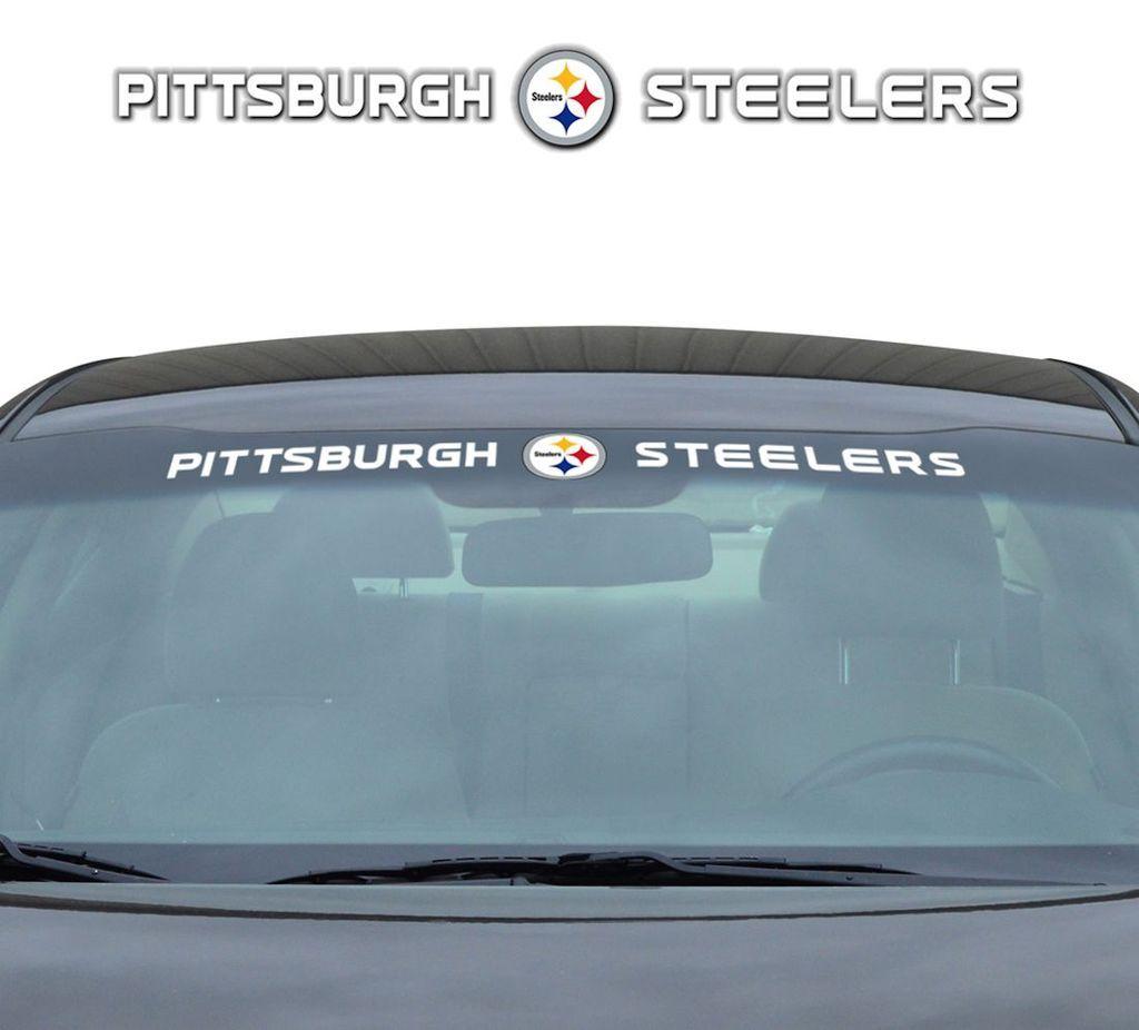 Pittsburgh Steelers Decal 35x4 Windshield Style Bear Decal Windshield Cincinnati Reds [ 926 x 1024 Pixel ]