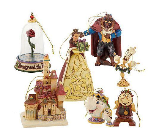 Beauty & The Beast Ornaments