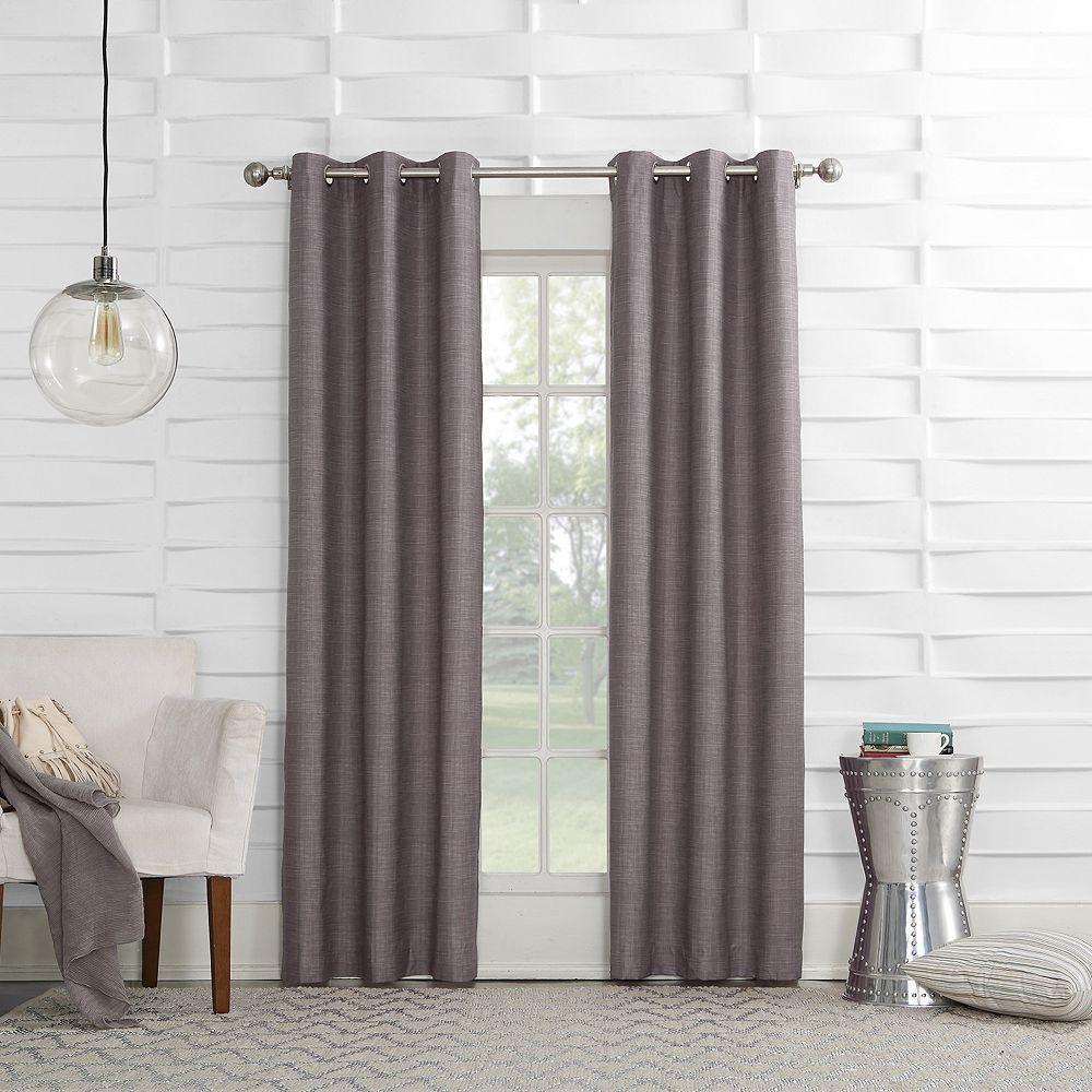 Sun Zero 1 Panel Thompson Thermal Window Curtain Grommet Curtains Curtains Panel Curtains