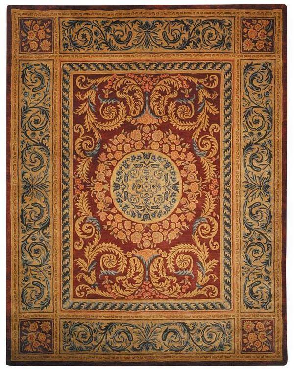 Safavieh Empire Em421a Burgundy Rug Traditional Rugs