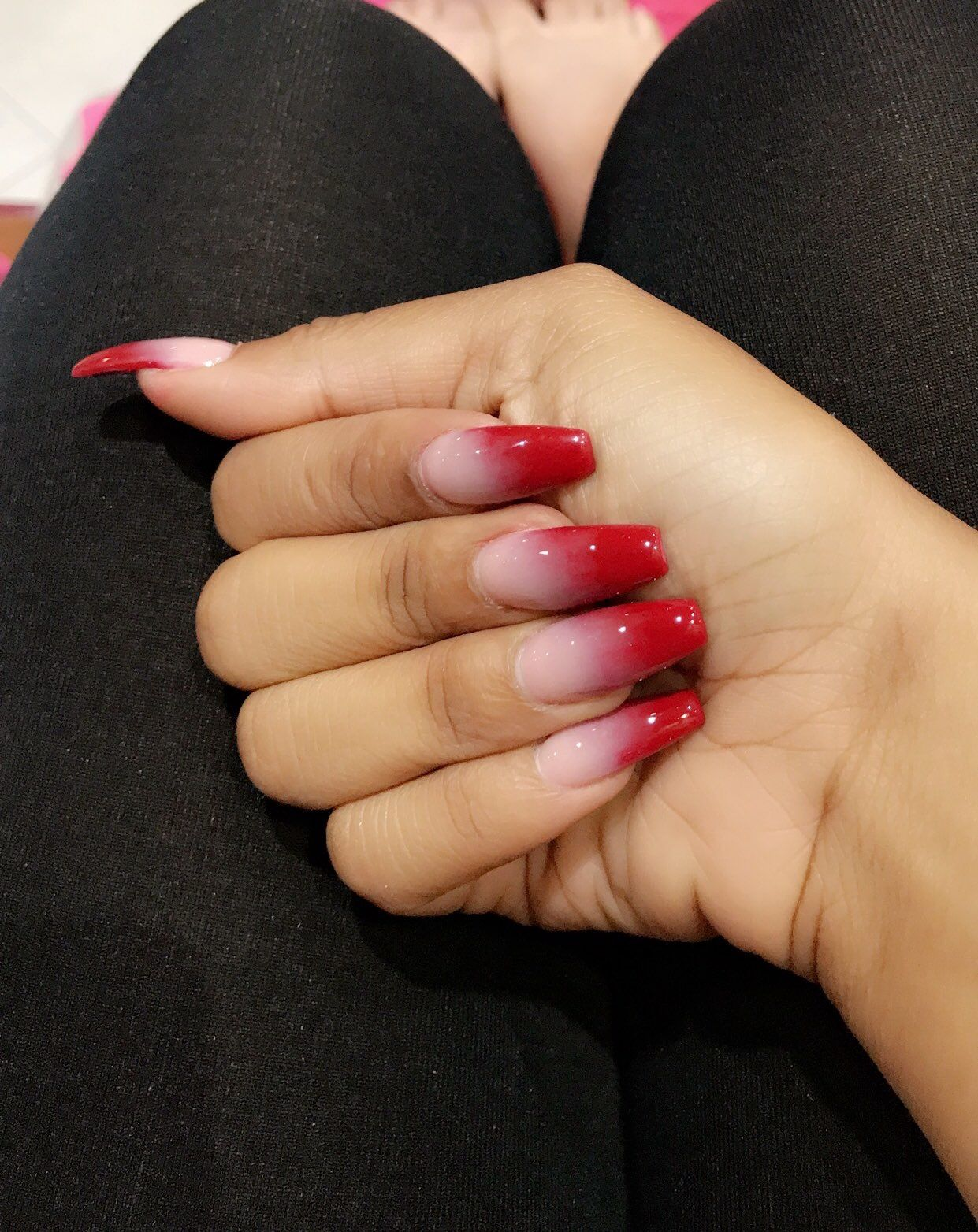 Evon Yen Vuong On Instagram Your Nails Are Your Statement Make It A Great One Red Acrylic Nails Pretty Acrylic Nails Acrylic Nails