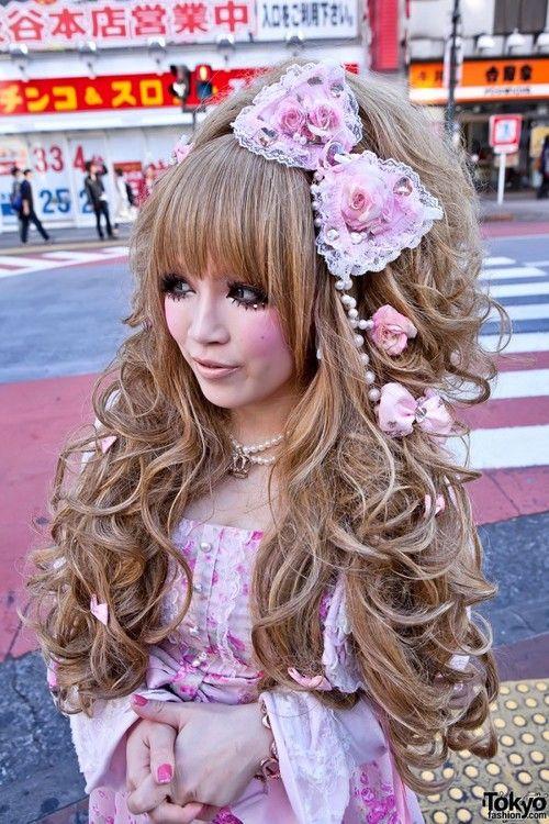 How To Dress Hime Gyaru Gyar Aon Pinterest Gyaru Hair
