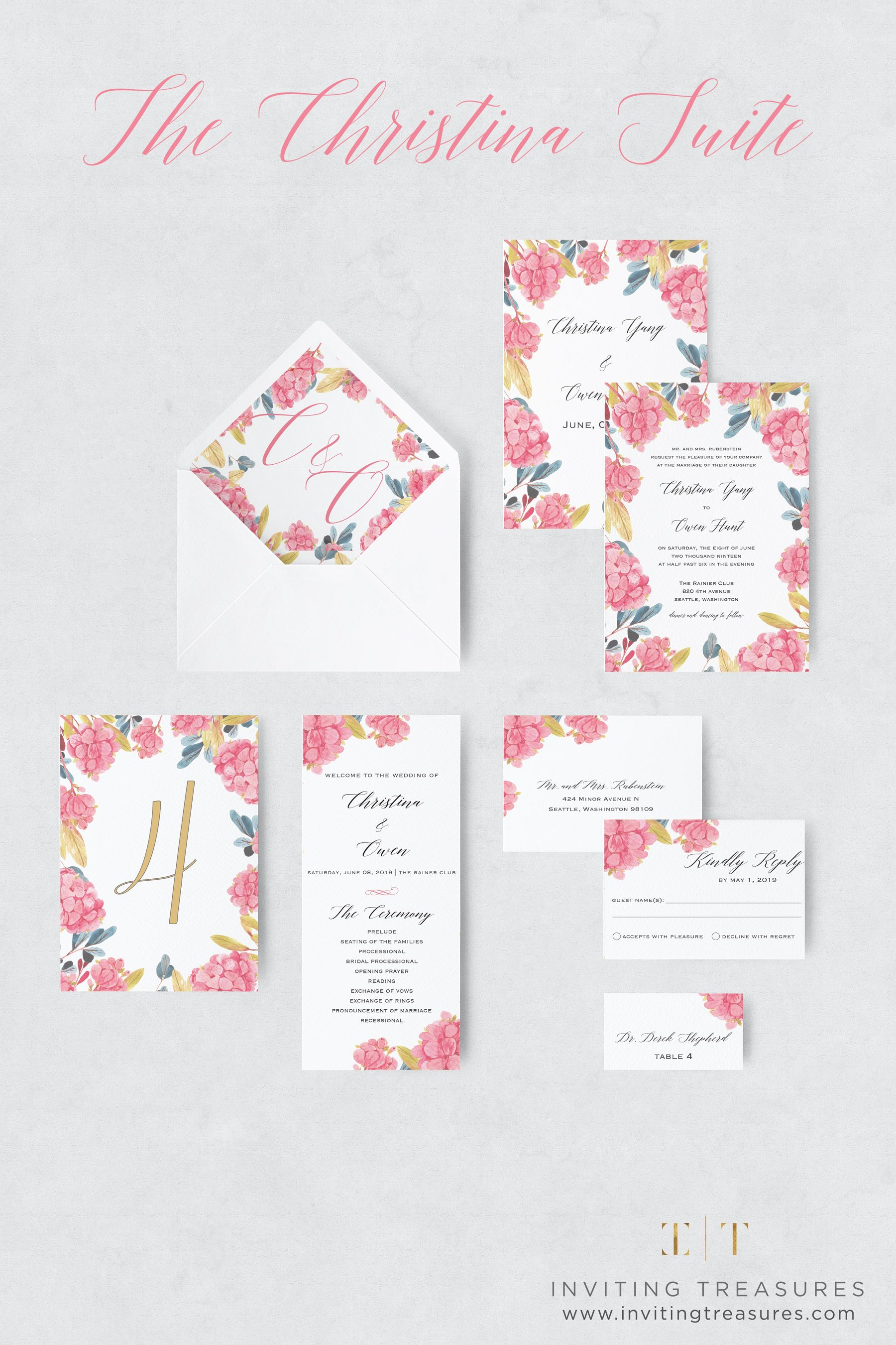 Wedding Invitations Spring Summer Wedding Collection The