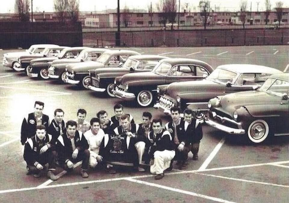 Pin By Morbid Rodz On Greasers And Teddys Of The 50s In 2020 Rockabilly Cool Cars Custom Cars