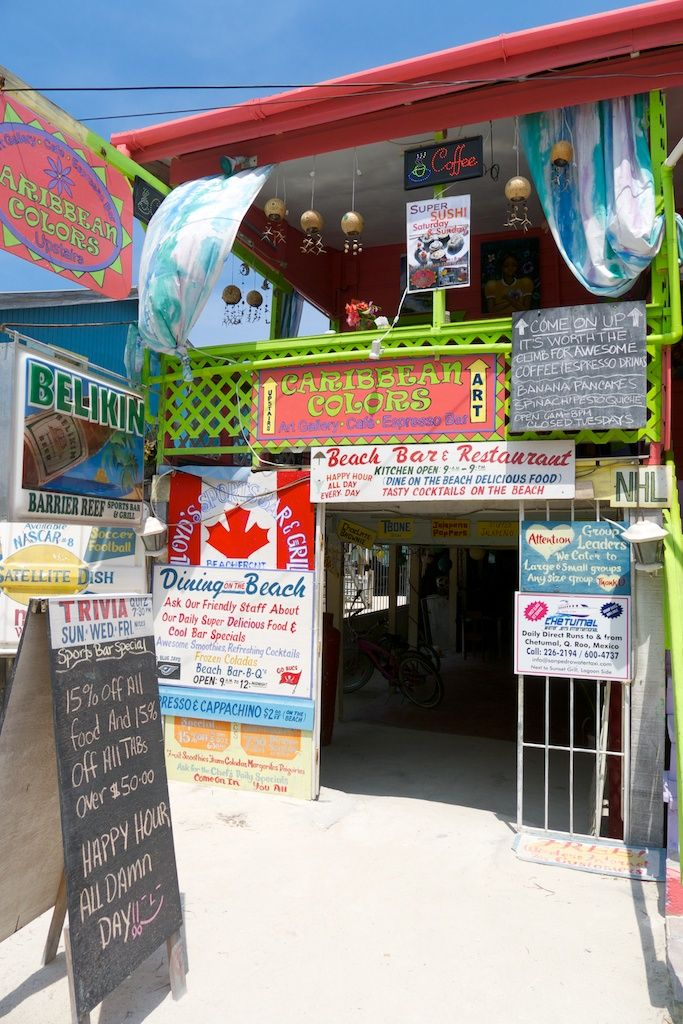 located 21 miles northeast of belize city caye caulker is one of belize s northermost island