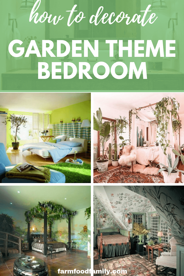 How To Decorate A Garden Theme Bedroom 13 Garden Bedroom Ideas Garden Bedroom Bedroom Themes Bedroom Diy