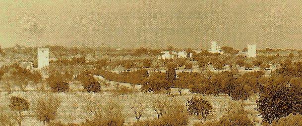 Torres de la Huerta Alicantina: Torre Sarrió. Construida entre los siglos XVI y XVII.
