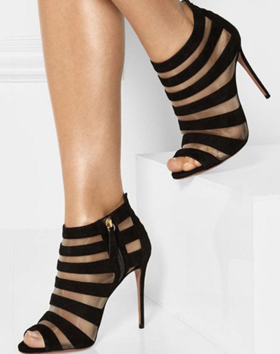 Pin by Becky Sloan on Heels   Heels, Peep toe, Fashion