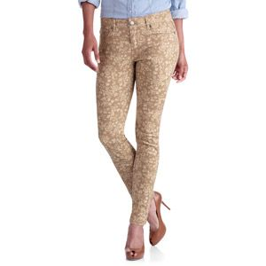 2f2e7293a088b Faded Glory Women s Plus-Size Floral Printed Skinny Jeans