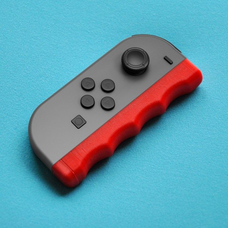 people are already 3d printing nintendo switch accessories 3d