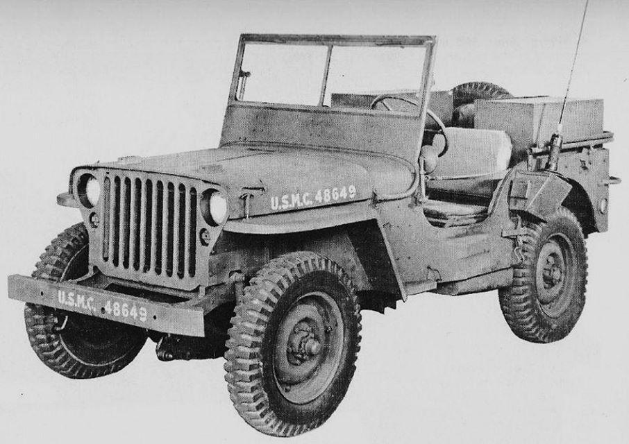 Usmc Radio Jeep 1942 Willys Jeep Willys Mb Military Jeep