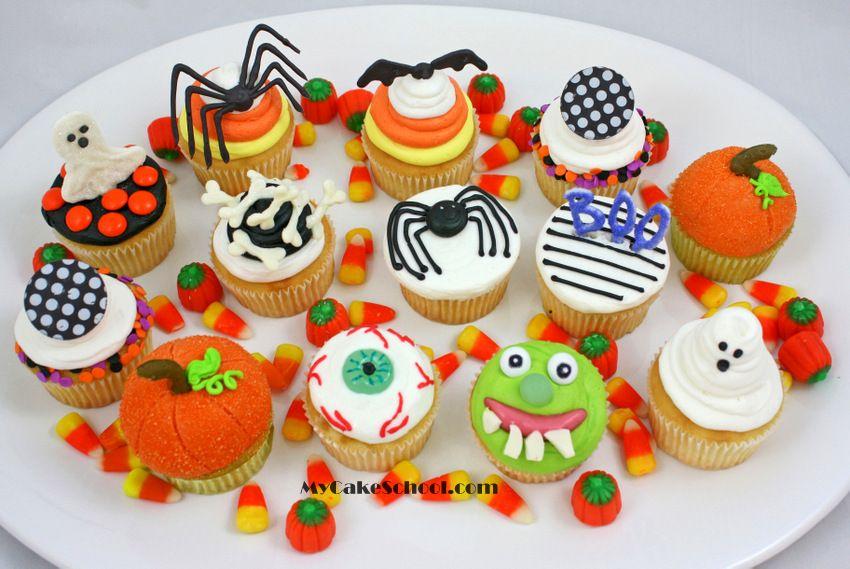 halloween cupcake tutorial farben und sch ner. Black Bedroom Furniture Sets. Home Design Ideas