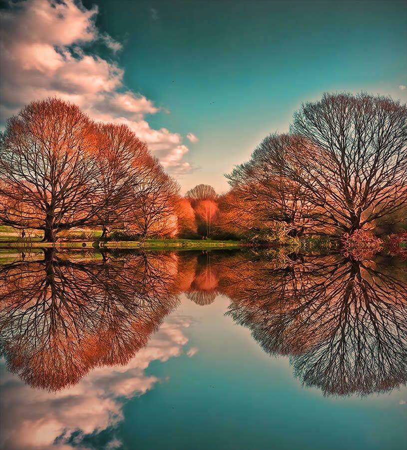 Top 10 Natural Landscape Reflections Beautiful World Amazing Nature Water Reflections