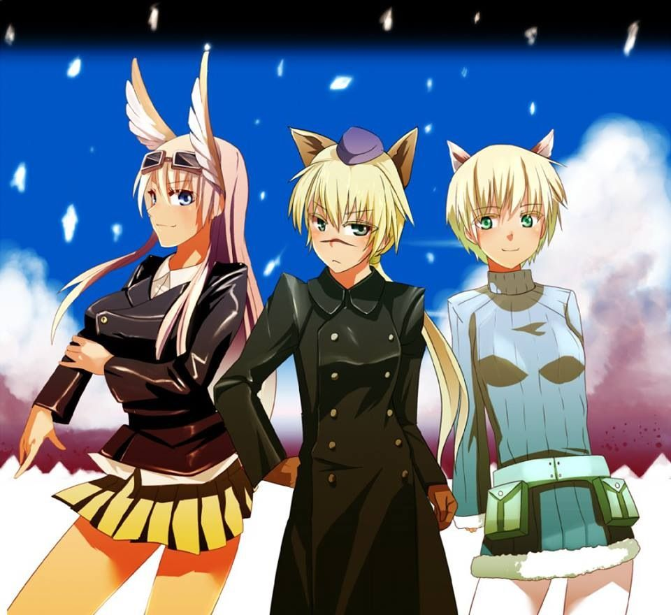 Strike Witches Witch Zelda Characters