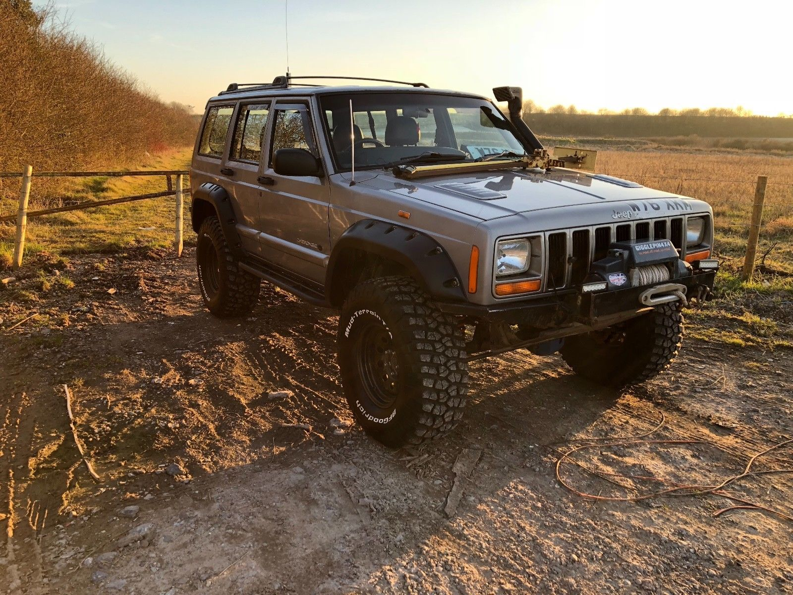 Jeep Cherokee Xj Offroader Monster Truck Off Road 4x4 Lift Kit