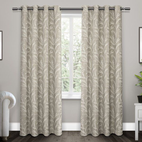 The Baillons Has Room Darkening Thermal Insulated Grommet Top