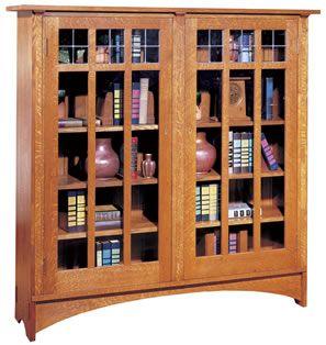 Stickley Wider Two Door Bookcase 89 704 59