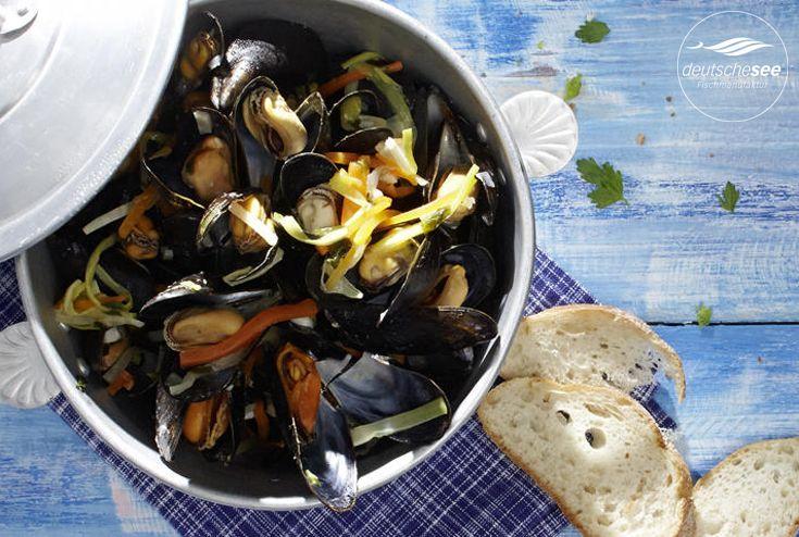 miesmuscheln rheinische art recipe pinterest mussels pasta and food and drink
