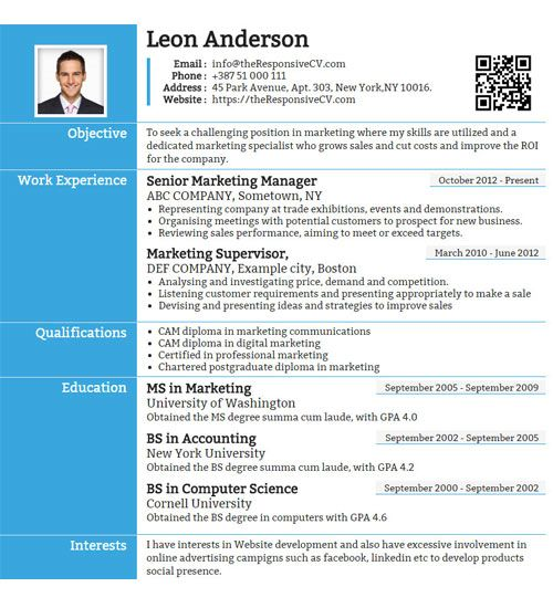 Linked In Resume Linkedin  Template And Microsoft Word