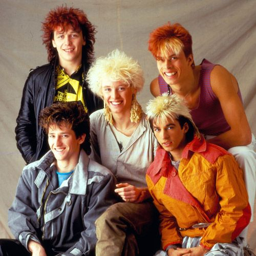 Kajagoogoo:  one hit wonder?    Too Shy, written and recorded by English New Wave/pop music band Kajagoogoo, released in 1983. The first single from their debut album White Feathers, the song was an immediate hit and reached no.1 (for two weeks) on the UK Singles Chart. It was also very successful in other European countries, spending 5 weeks at no.1 in Germany, and reaching no.2 in Switzerland, no.4 in Sweden and Austria, and no.4 in the Netherlands.