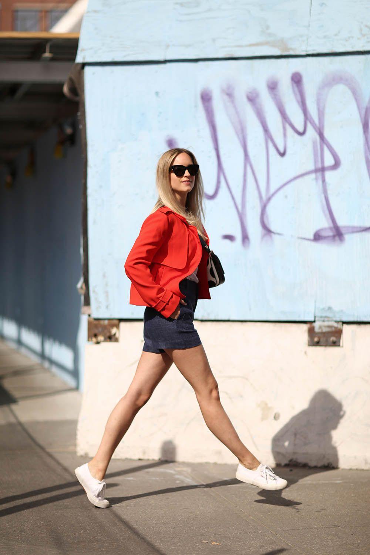 Charlotte Groeneveld for Fendi | THEFASHIONGUITAR | Zara jacket // LNA t-shirt // Zara shorts // Fendi bag // Celine sunglasses // Superga sneakers.