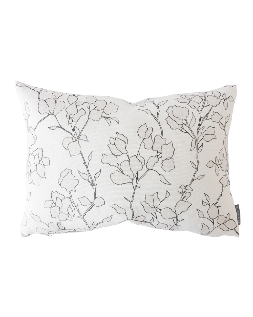 The Blair Sketched Floral Captures The Best Of Nature S Artful Form While A Quiet Palette Stays True To Its Si In 2021 Floral Pillow Cover Floral Pillows Pillow Covers