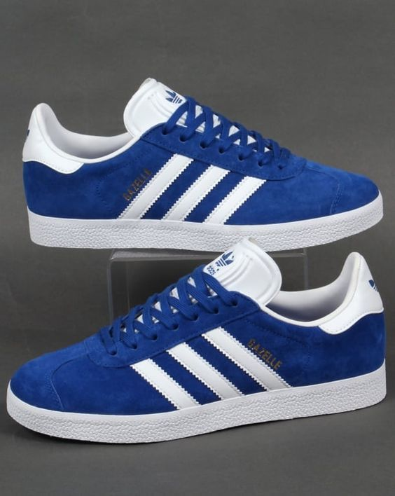 san francisco 9f657 1886f Zapatillas Adidas Originals Gazelle para chica azul royal. Adidas Gazelle  for women royal.