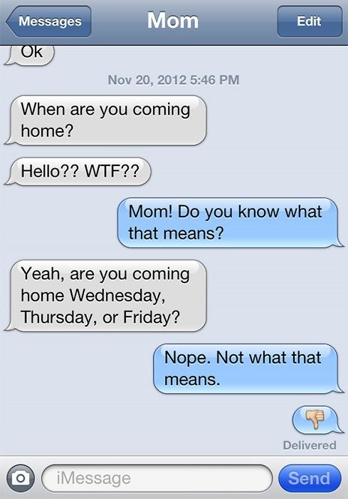 75 texts from moms to keep kids on their toes