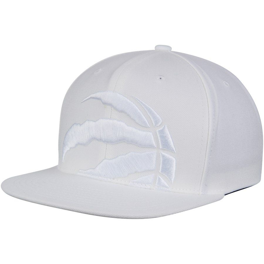 88b13fe1fc33ae Men's Toronto Raptors Mitchell & Ness White Cropped XL Logo Snapback  Adjustable Hat, Your Price: $31.99