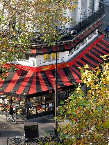 "En face du bureau, à l'angle avec la rue de Turbigo, ""le Vélocipède"" boulevard Sébastopol, via Flickr."
