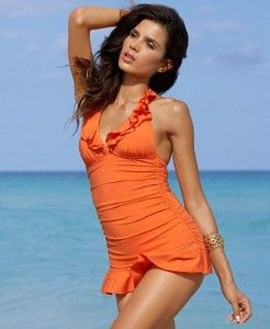 3498d677e0 Kenneth Cole REACTION Swimsuit, Halter Swimdress... | Quest for ...