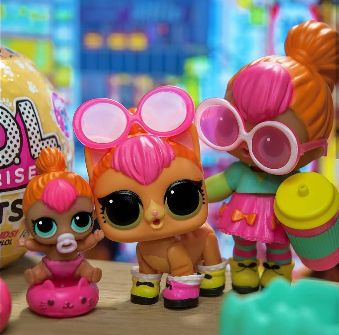 L O L Surprise Series 2 Neon Q T Lil Neon Q T Neon Kitty Lolsurprise Lol Surprise Doll Collectlol Collect Collectio Lol Dolls Doll Family Cute Kids