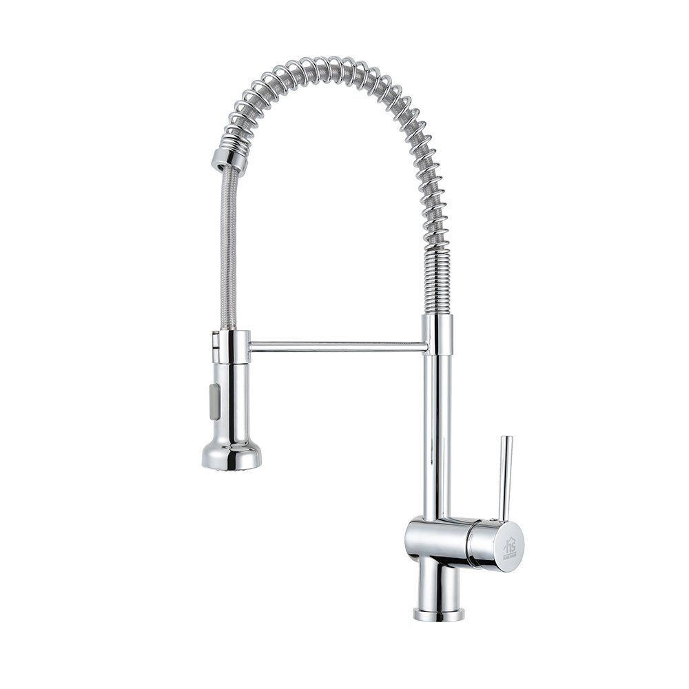 Home Show Copper Pull Out Bar Sink Kitchen Faucet Pull Down Sprayer