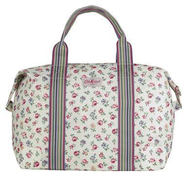 Linen Sprig Foldaway Holiday Bag