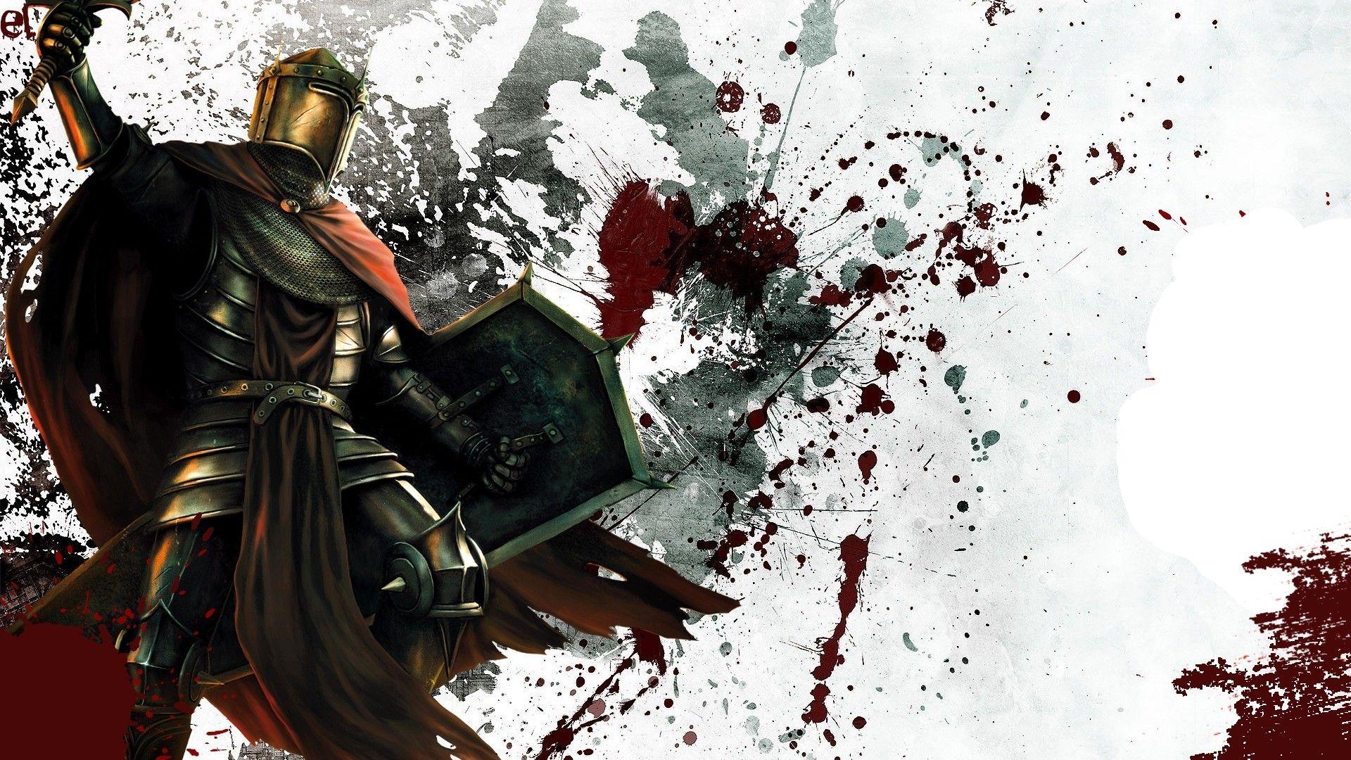 Knight Elfe Fantasy Guerriere