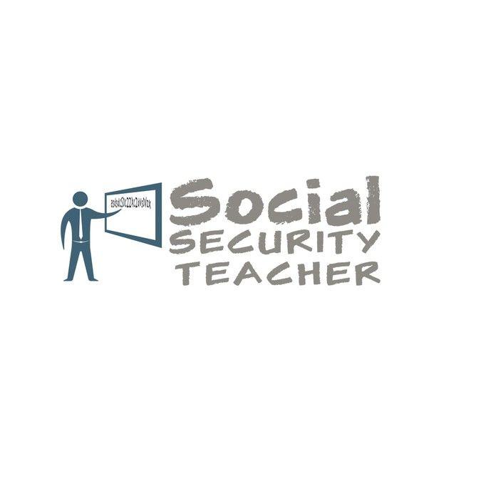 Create an educational and fun style logo for Social Security Teacher! by Dexter__