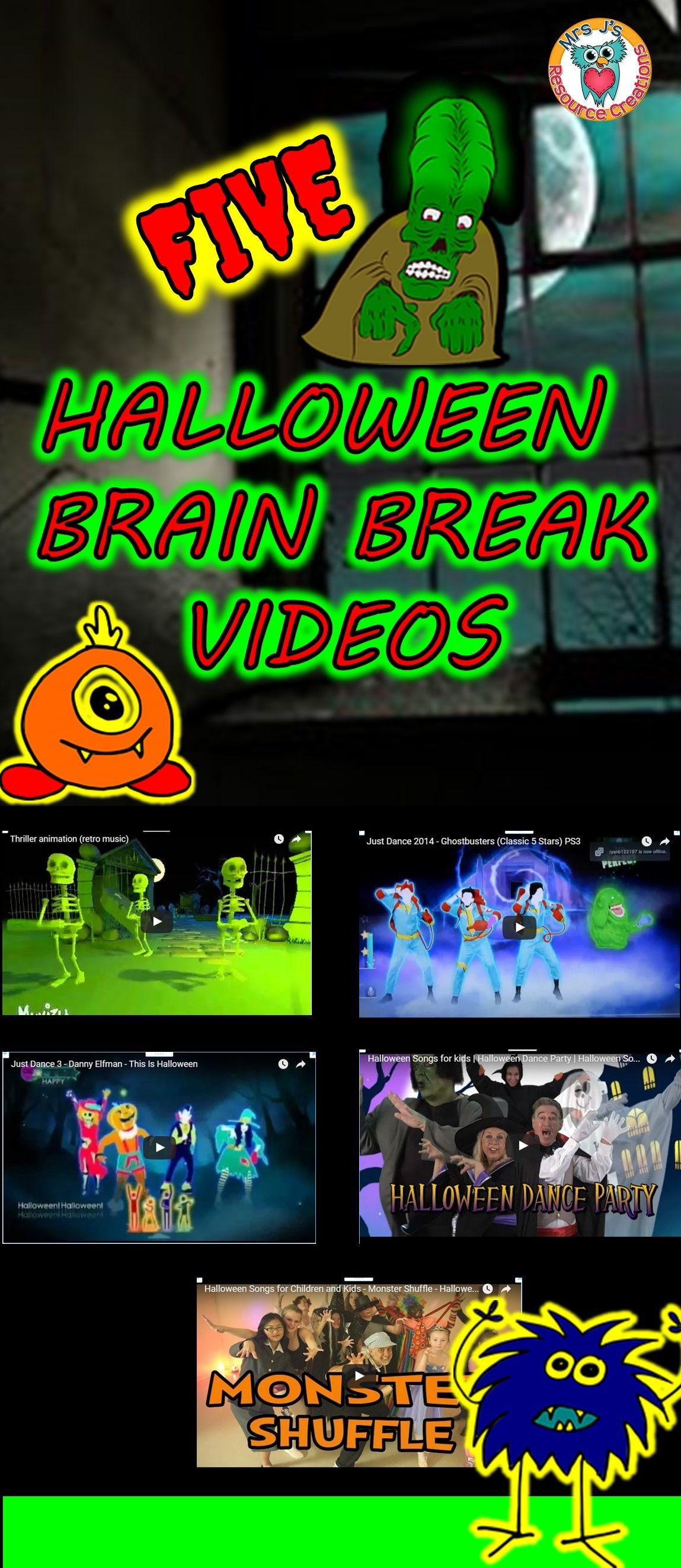 halloween brain breaks - Just Dance 3 Halloween