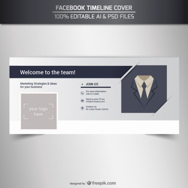 Facebook cover cronograma negócio Facebook business, Timeline - timeline website template